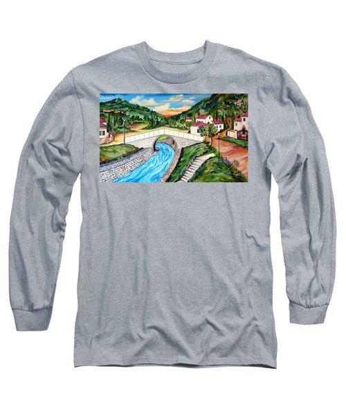 Beli Most Vranje Serbia Long Sleeve T-Shirt
