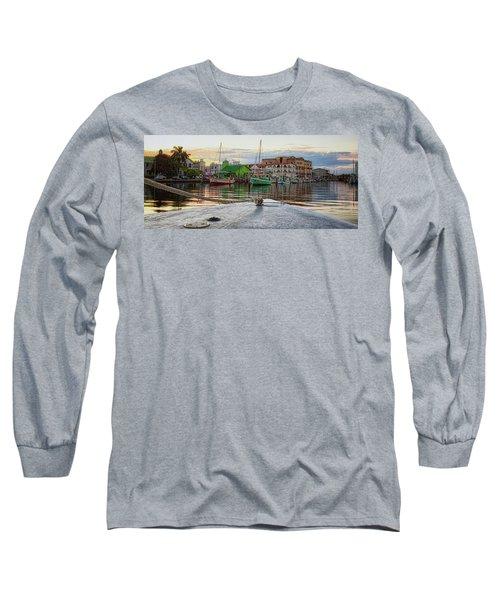 Belize City Harbor Long Sleeve T-Shirt