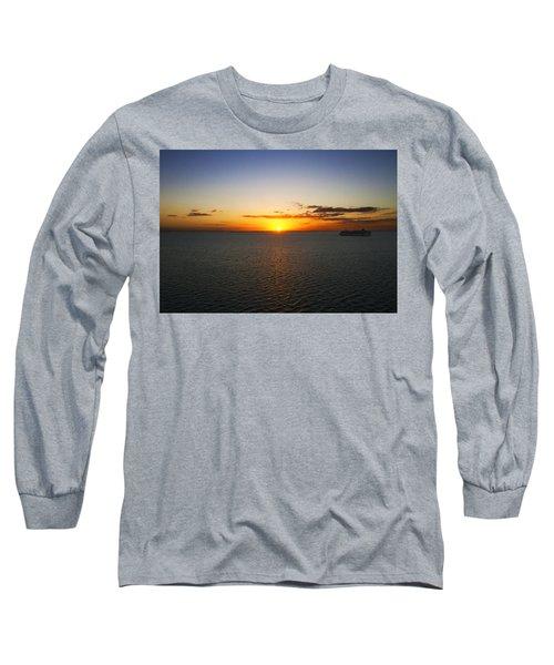 Belize Sunset Long Sleeve T-Shirt