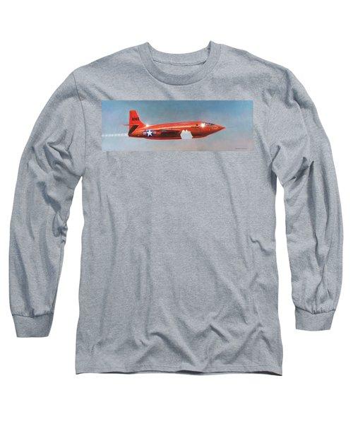 Bell X-1 Rocket Plane Long Sleeve T-Shirt