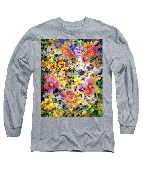 Belle Fleurs I Long Sleeve T-Shirt
