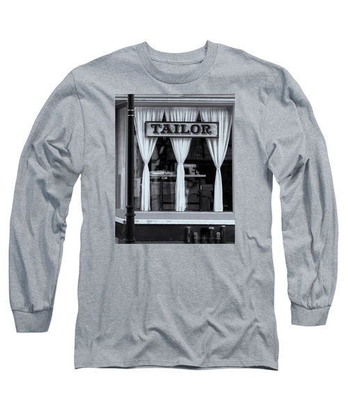 Bellows Falls Tailor Long Sleeve T-Shirt by Tom Singleton