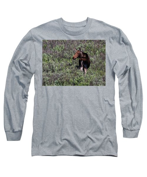 Belly Deep In Sage Long Sleeve T-Shirt