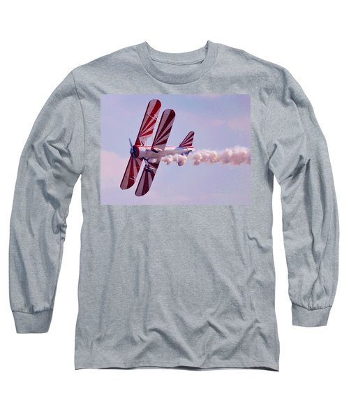 Belly Of A Biplane Long Sleeve T-Shirt