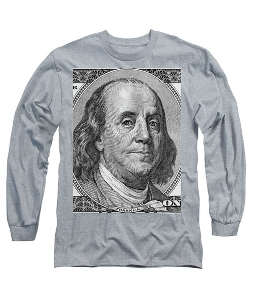 Long Sleeve T-Shirt featuring the photograph Ben Franklin by Les Cunliffe
