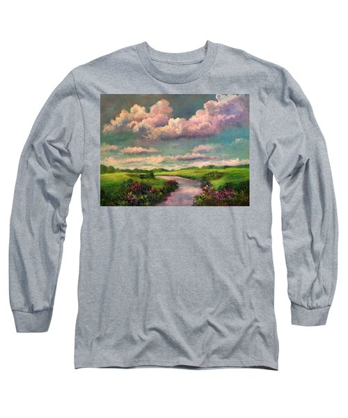 Beneath The Clouds Of Paradise Long Sleeve T-Shirt