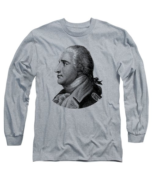 Benedict Arnold - Black And White Long Sleeve T-Shirt