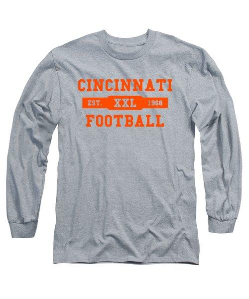 Bengals Retro Shirt Long Sleeve T-Shirt by Joe Hamilton