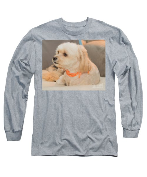 Benji On The Look Out Long Sleeve T-Shirt