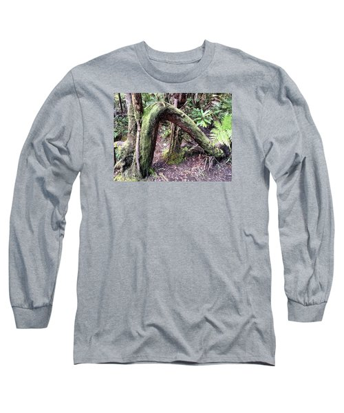 Bent But Not Broken Long Sleeve T-Shirt by Russell Keating