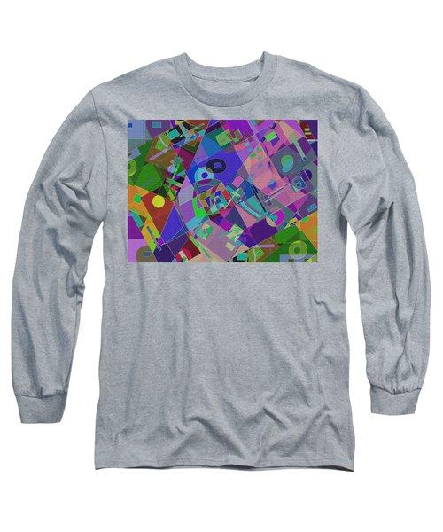 Bent Shapes 14 Long Sleeve T-Shirt