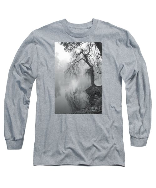 Bent With Gentleness And Time Long Sleeve T-Shirt by Linda Lees