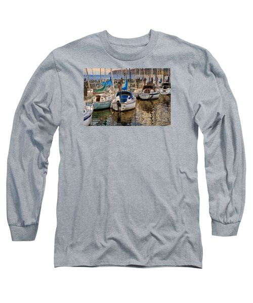 Berthed Long Sleeve T-Shirt by Ed Hall