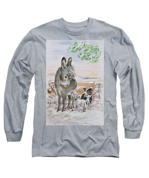 Best Friends Long Sleeve T-Shirt by Diane Matthes
