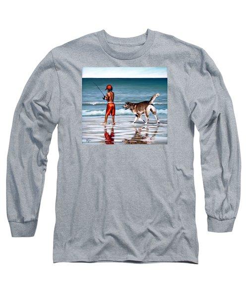 Best Friends II Long Sleeve T-Shirt by Natalia Tejera