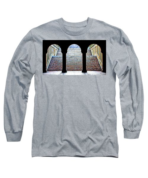 Bethesda Terrace Arcade Long Sleeve T-Shirt by Suzanne Stout