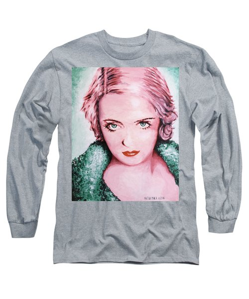 Bette Davis Long Sleeve T-Shirt