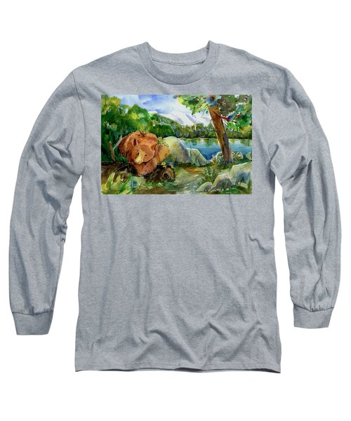 Between A Rock And Hardplace Long Sleeve T-Shirt