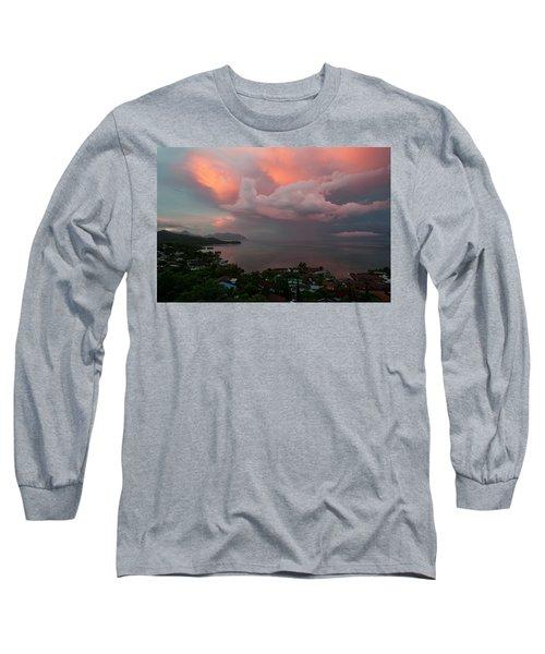 Between Rainstorms Long Sleeve T-Shirt by Dan McManus