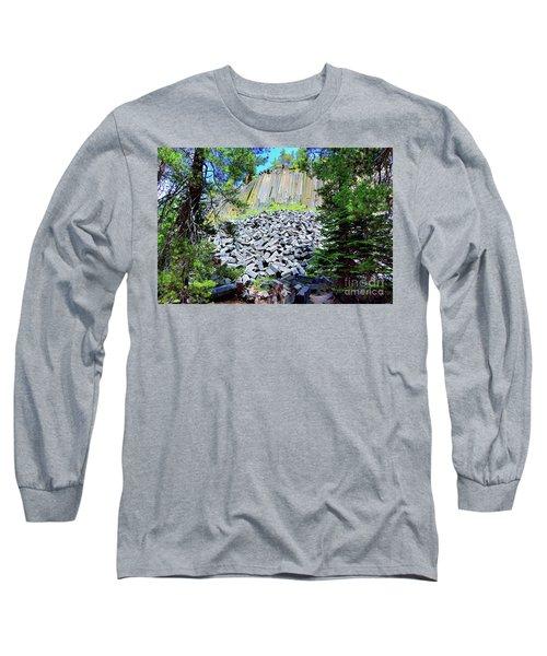Between The Trees Devils Postpile Long Sleeve T-Shirt