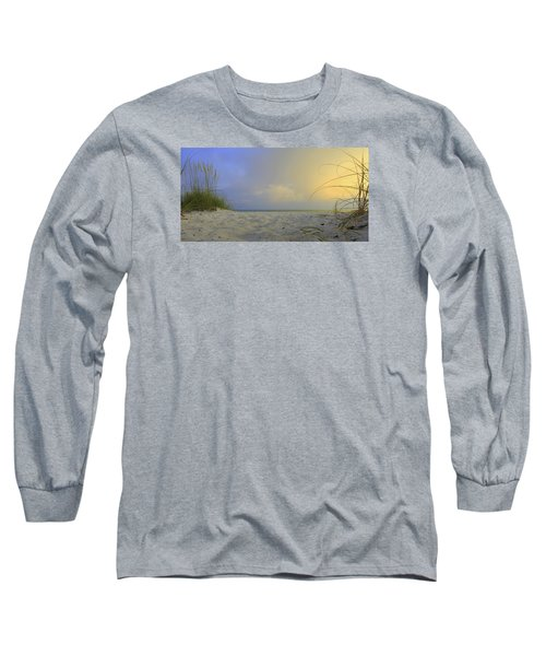 Betwen The Grass Long Sleeve T-Shirt by Sean Allen