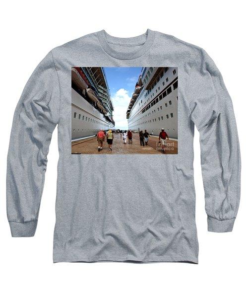 Beween Two Ships Long Sleeve T-Shirt
