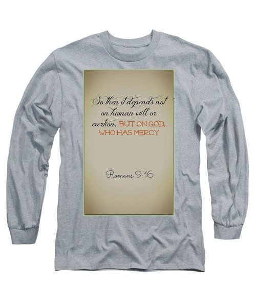 Beyond Our Imperfection Long Sleeve T-Shirt
