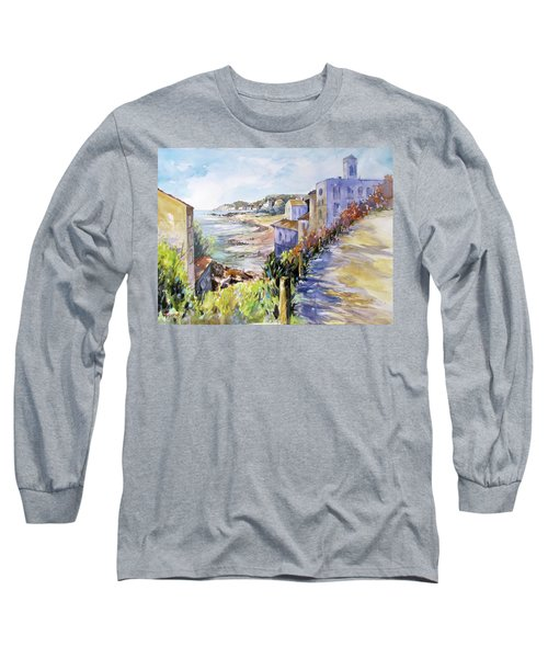 Beyond The Point Long Sleeve T-Shirt by Rae Andrews