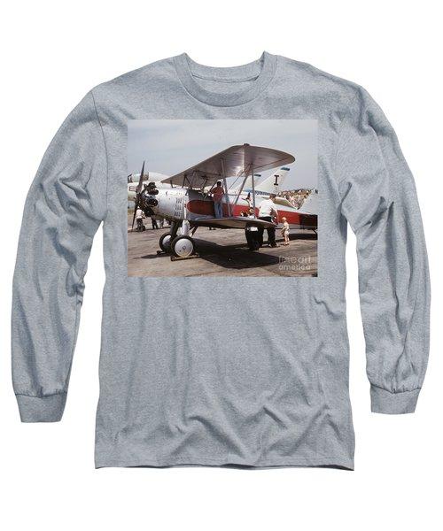 Bi-wing-3 Long Sleeve T-Shirt