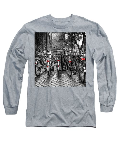 Bicycle Park Long Sleeve T-Shirt