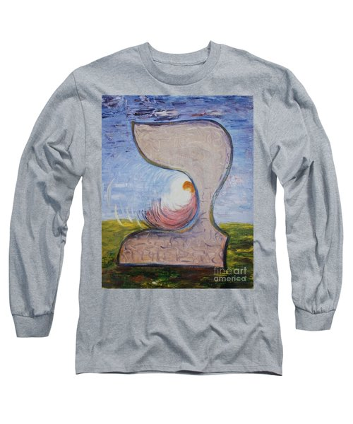 Biet - Meditation In Oil Long Sleeve T-Shirt