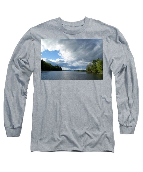 Long Sleeve T-Shirt featuring the photograph Big Brooding Sky by Lynda Lehmann