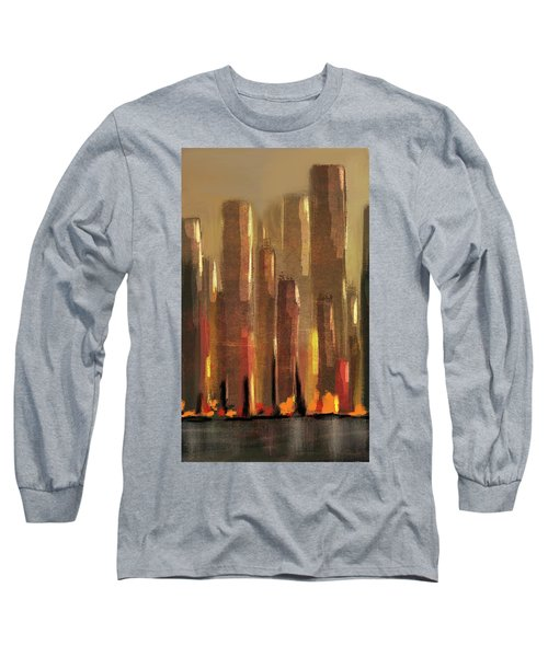 Big City Sunset Long Sleeve T-Shirt