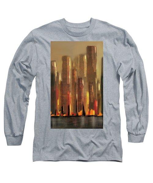 Big City Sunset Long Sleeve T-Shirt