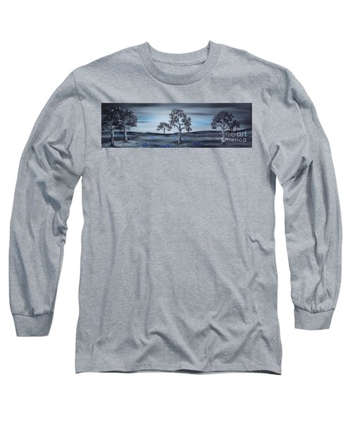 Long Sleeve T-Shirt featuring the painting Big Country by Kenneth Clarke
