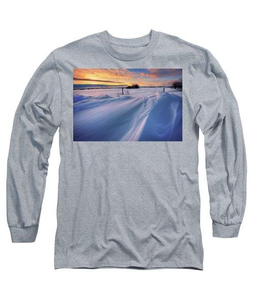 Big Drifts Long Sleeve T-Shirt by Dan Jurak