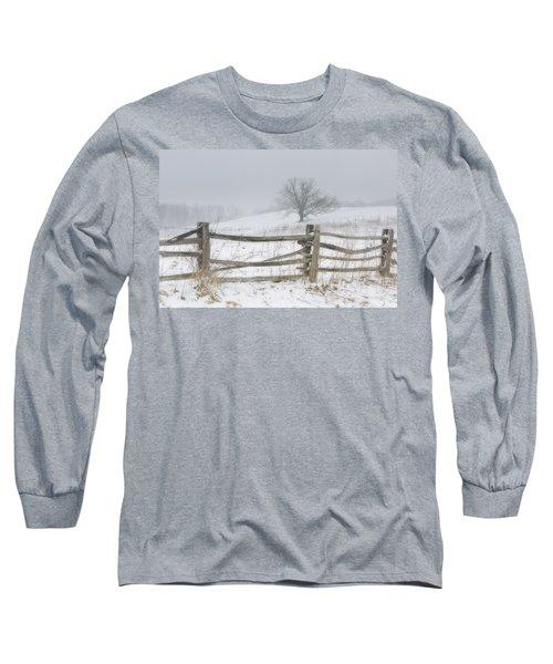 Big Oak Tree Long Sleeve T-Shirt