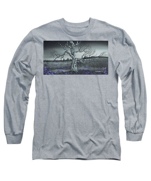 Long Sleeve T-Shirt featuring the painting Big Old Tree by Kenneth Clarke