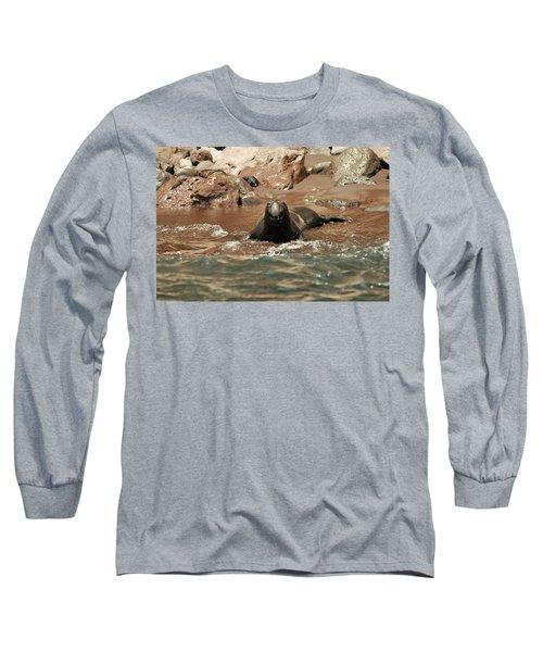 Big Smile Long Sleeve T-Shirt