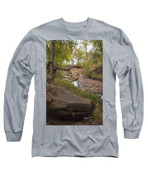 Big Stone Creek Long Sleeve T-Shirt by Ricky Dean