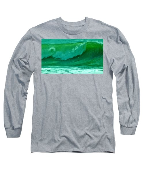 Big Surf 2 Long Sleeve T-Shirt by John Wartman