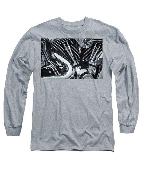 Bike Chrome Long Sleeve T-Shirt
