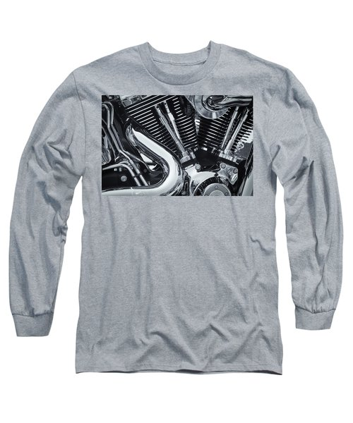 Bike Chrome Long Sleeve T-Shirt