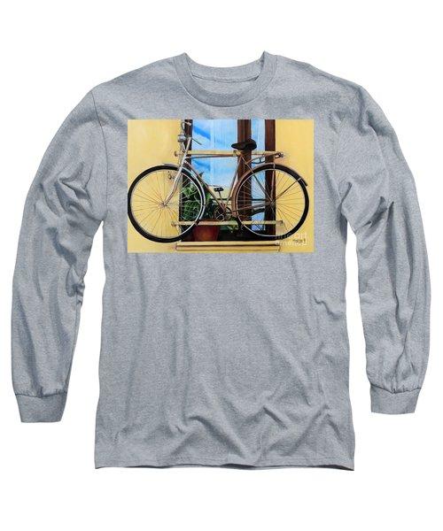 Bike In The Window Long Sleeve T-Shirt