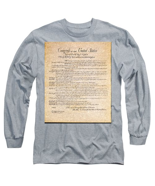 Bill Of Rights Long Sleeve T-Shirt