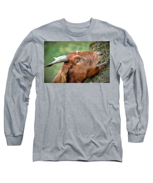 Long Sleeve T-Shirt featuring the photograph Billy by Marion Johnson
