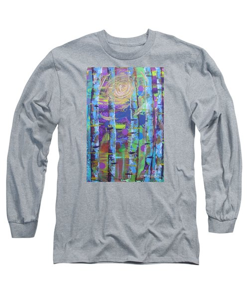 Birch 6 Long Sleeve T-Shirt by Jacqueline Athmann