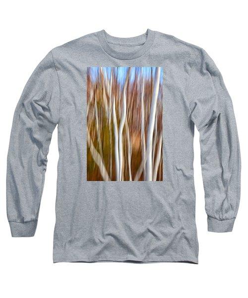 Birch Abstract No. 5 Long Sleeve T-Shirt