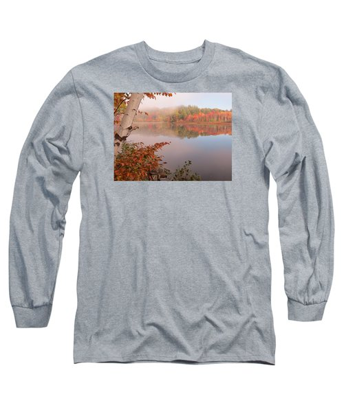 Birch And Beyond Long Sleeve T-Shirt by MTBobbins Photography