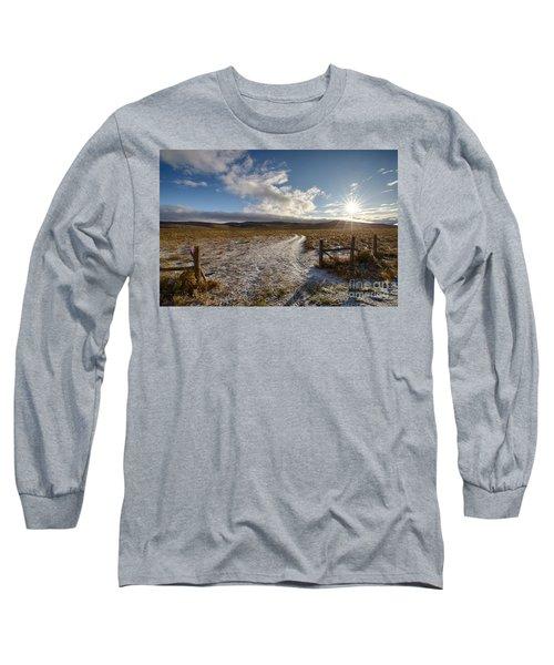 Birch Creek Valley Sun Long Sleeve T-Shirt